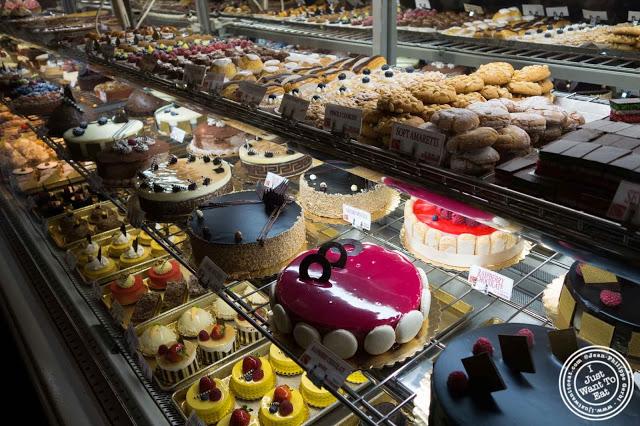 image of cakes at Pasticceria Bruno in NYC, New York