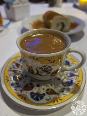 image of Turk Kahvesi coffee at Roka Turkish Cuisine in Kew Gardens, NY