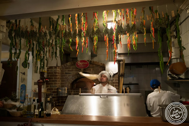 image of Kitchen at Capizzi  in Hell's Kitchen, NYC, New York