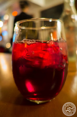 image of sangria at Capizzi  in Hell's Kitchen, NYC, New York