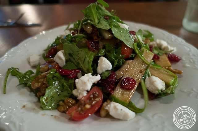 image of arugula salad at Capizzi  in Hell's Kitchen, NYC, New York