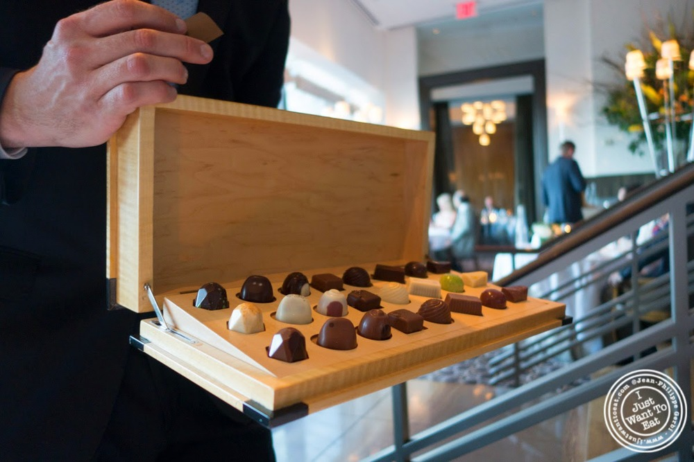 chocolates at Per Se in New York, NY