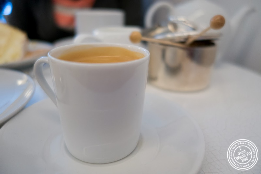 image of espresso at Lady M Upper East Side, NYC, New York