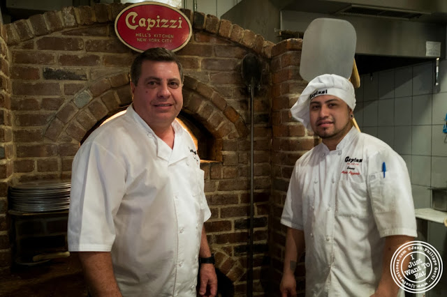 image of Joe Calcagno at Capizzi  in Hell's Kitchen, NYC, New York