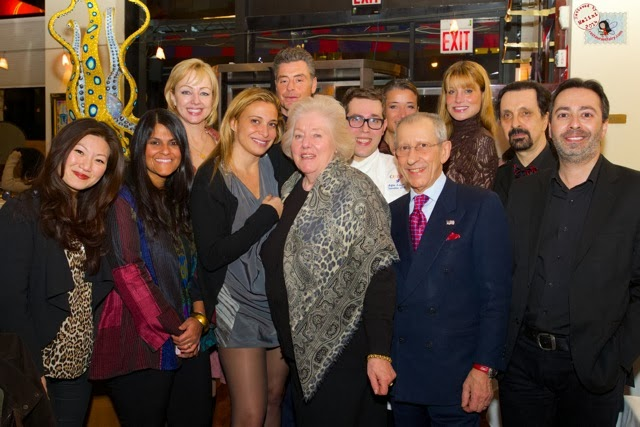 image of restaurant fairy malini, Mamma Egi and Mauro Maccioni and Donatella Arpaia at Circo in NYC, New York