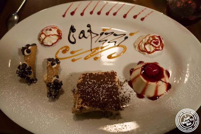 image of desserts at Capizzi  in Hell's Kitchen, NYC, New York