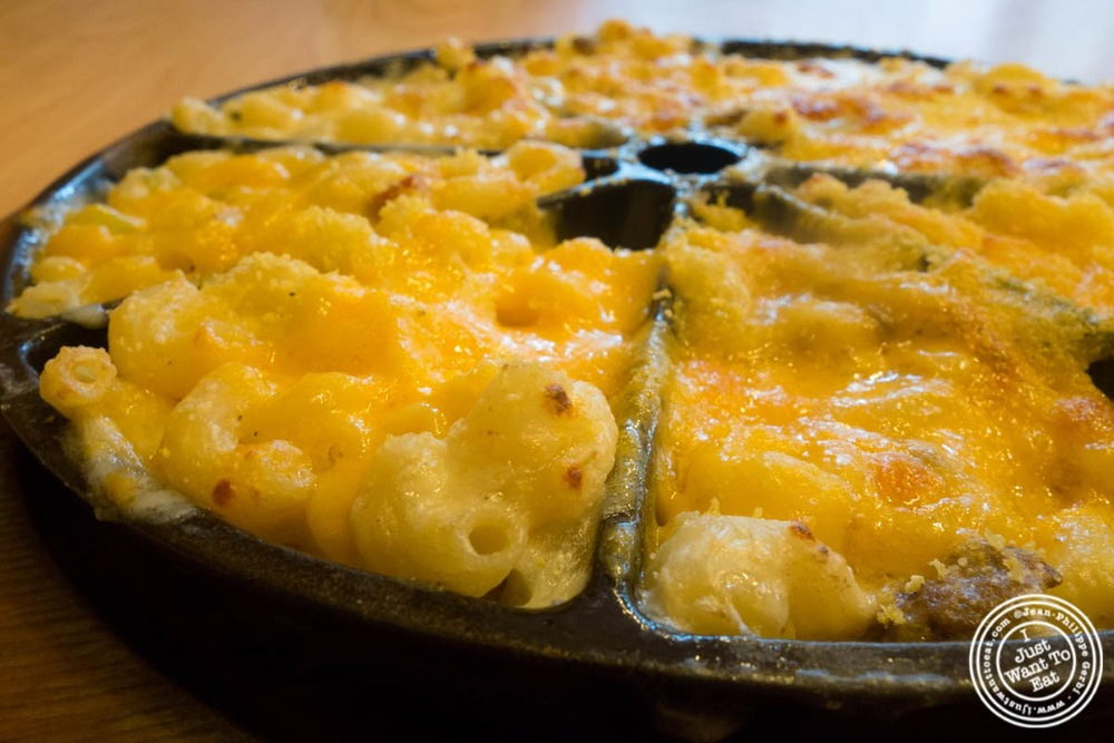 image of Mac and cheese sampler at S'mac in the East Village, NYC, New York