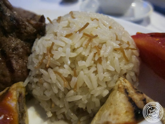 image of basmati rice at Roka Turkish Cuisine in Kew Gardens, NY
