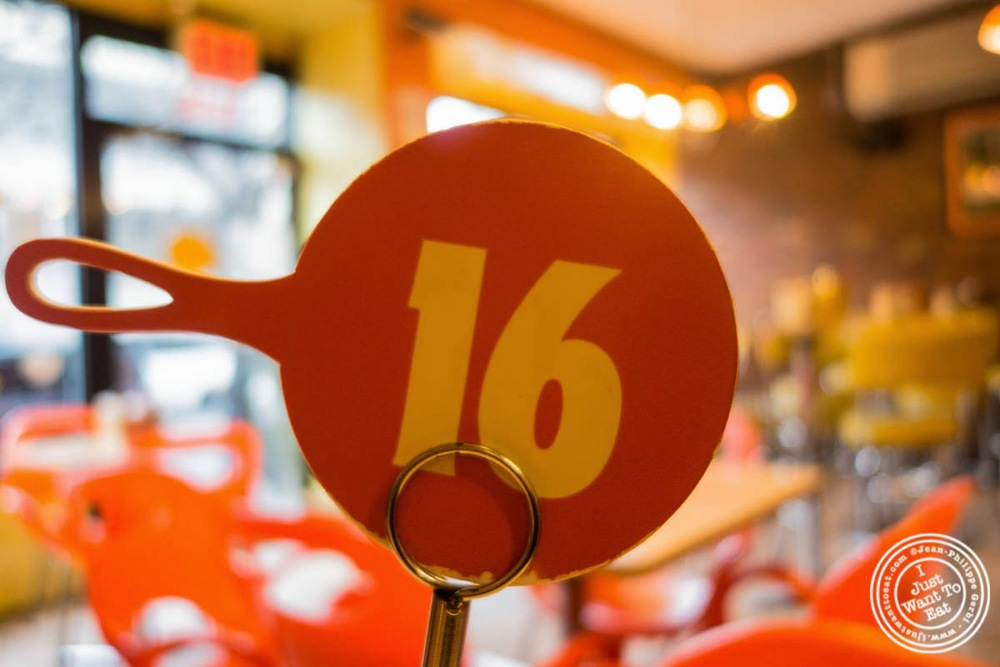image of order number at S'mac in the East Village, NYC, New York