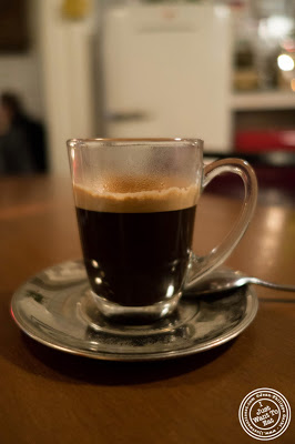 image of espresso at Capizzi  in Hell's Kitchen, NYC, New York
