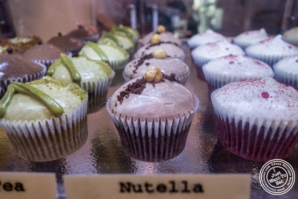 image of cupcakes at Chikalicious Dessert Club in the East Village