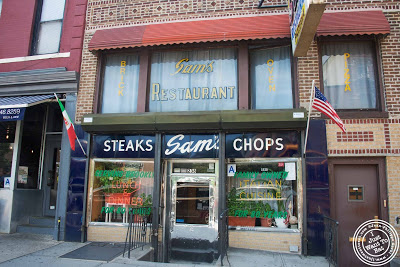 image of Sam's pizzeria with Scott's pizza tours in NYC, New York