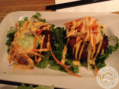 Image of Crab cakes at Chapas Vietnamese eatery in NYC, New York