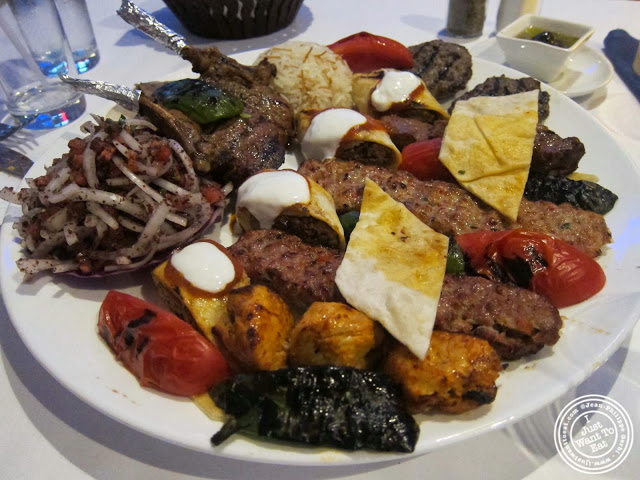 image of mixed grill at Roka Turkish Cuisine in Kew Gardens, NY