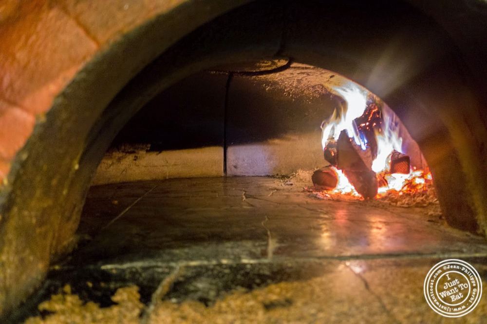 image of brick oven at Bricco in Hell's Kitchen, NYC,NY