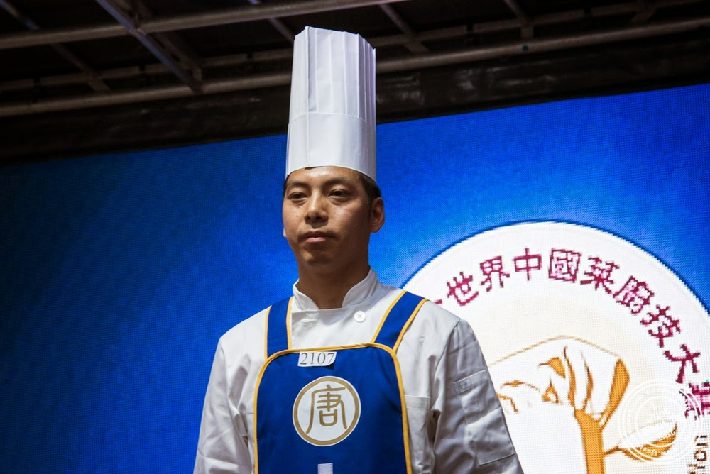 image of Chef Tong Yuncai at Taste of Asia 2014: Huaiyang cuisine cook off