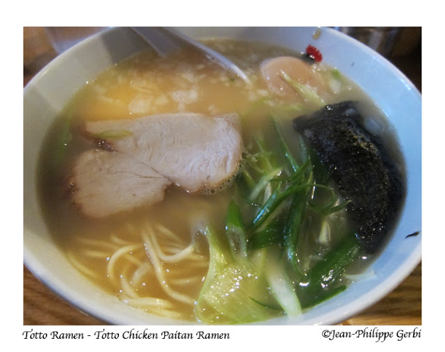 Image of Totto chicken paitan ramen at Totto Ramen in NYC, New York