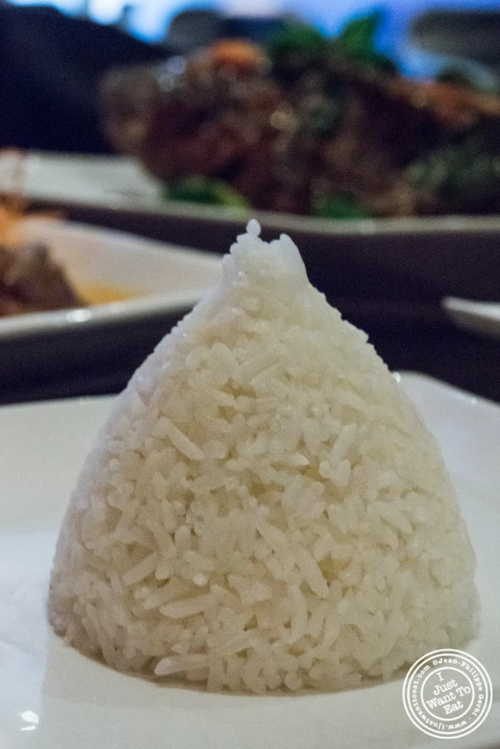 image of White rice at E-San Thai in Murray Hill, NYC, New York