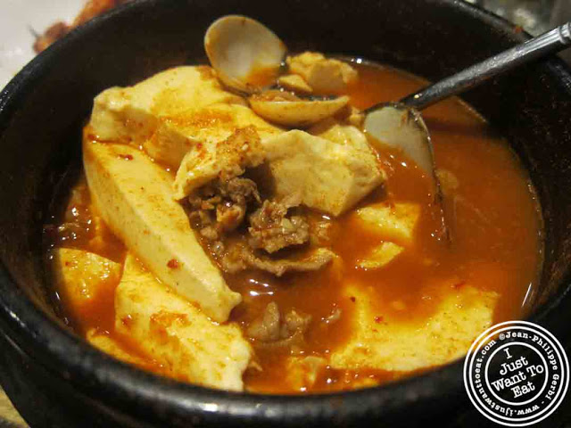 Image of Soon Tofu soup at BCD Tofu House in Korea Town NYC, New York
