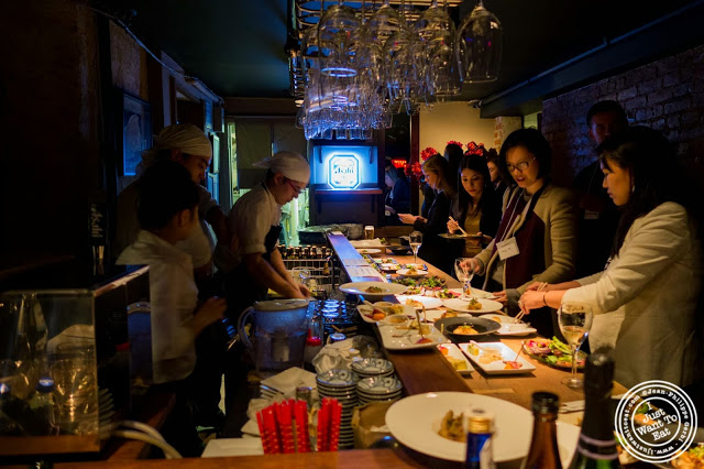 image of Tabélog US event at Jukai, Japanese restaurant Midtown East, NYC, New York