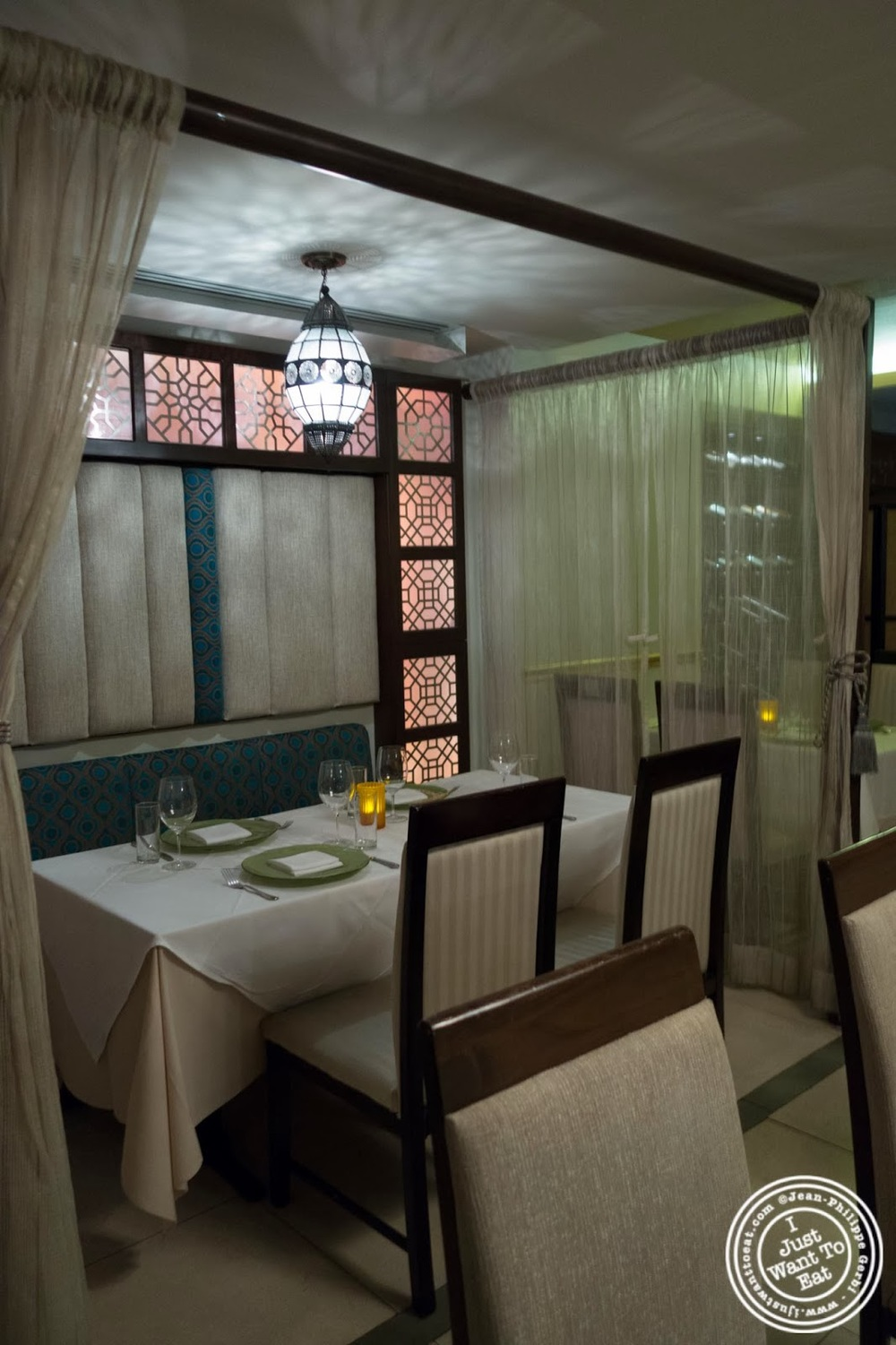 Image Of Dining Room At Tulsi, Indian Restaurant In Midtown East, NYC, New