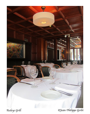 Image of Dining room of the Redeye Grill in NYC, New York