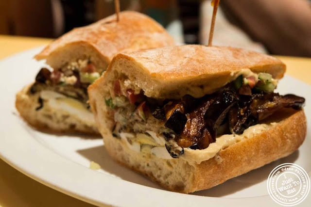 Image of Sabih sandwich at Bite in NYC, New York