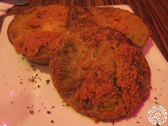 image of Fried green tomatoes at The Pink Tea Cup in NYC, New York