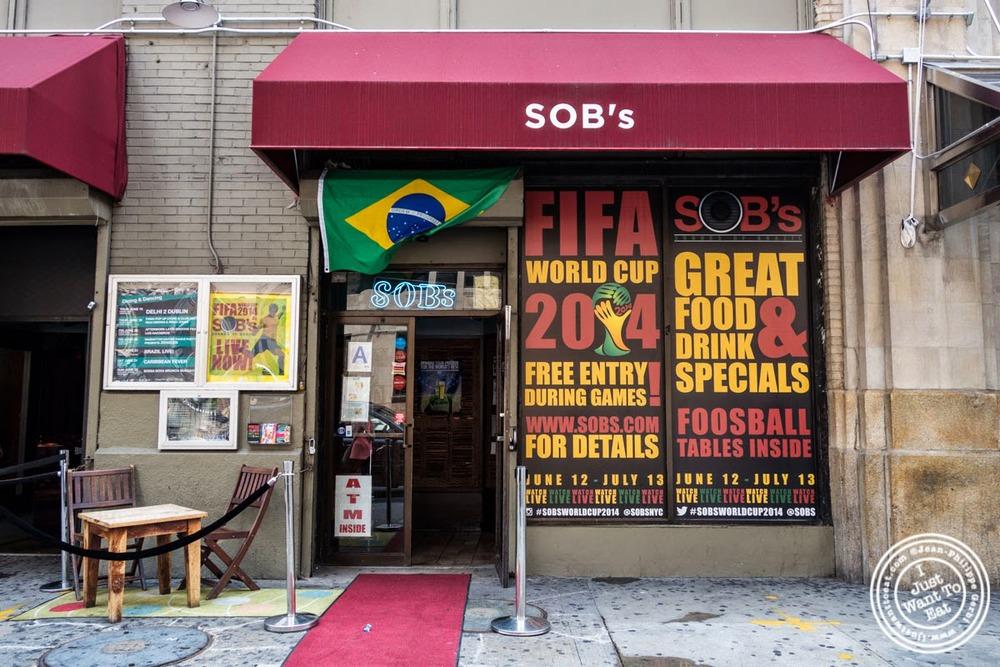 Brunch at Sounds Of Brazil SOB's in NY, New York