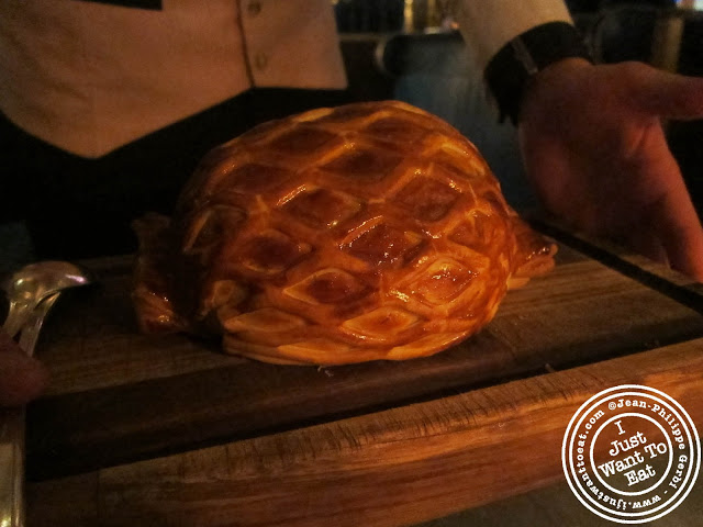 Image of Beef Wellington at bread at Bob Bob Ricard in London, England