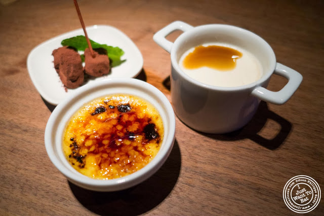 image of desserts at Jukai, Japanese restaurant Midtown East, NYC, New York