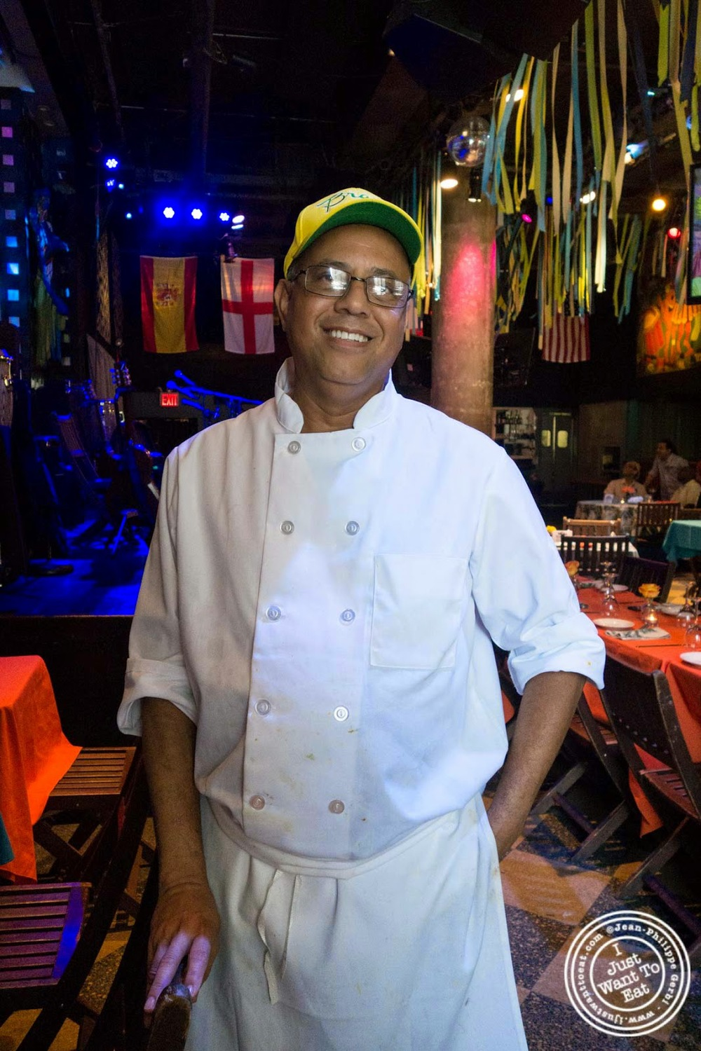 Chef Jorge Lima at Sounds Of Brazil SOB's in NY, New York