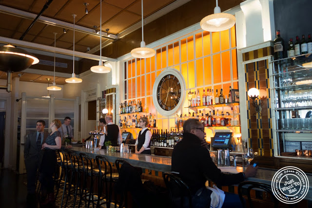image of bar at Lafayette in Greenwich Village, NYC, New York