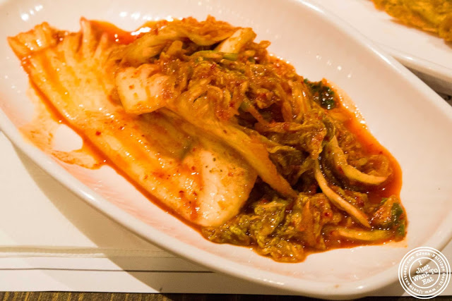 image of kimchi at BCD Tofu House in Korea Town NYC, New York