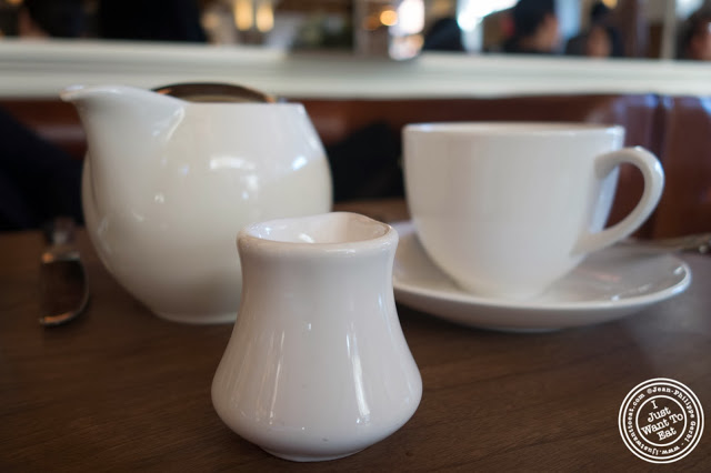 image of tea at Lafayette in Greenwich Village, NYC, New York