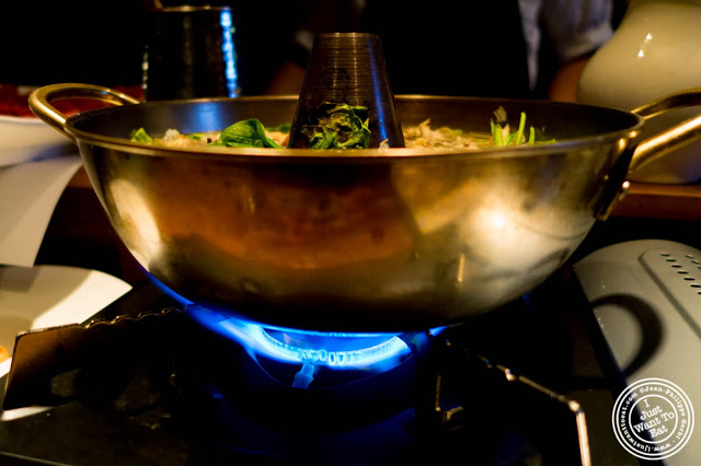 image of shabu shabu at Jukai, Japanese restaurant Midtown East, NYC, New York