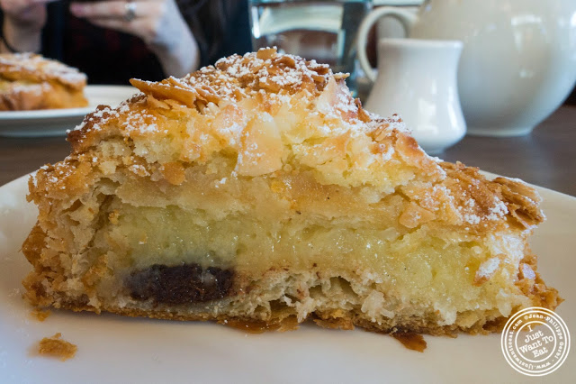 image of coconut, banana and chocolate croissant at Lafayette in Greenwich Village, NYC, New York