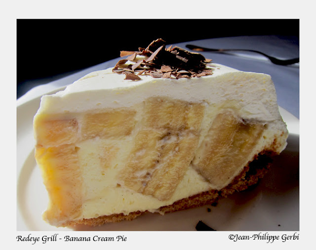 Image of Banana cream pie at the Redeye Grill in NYC, New York