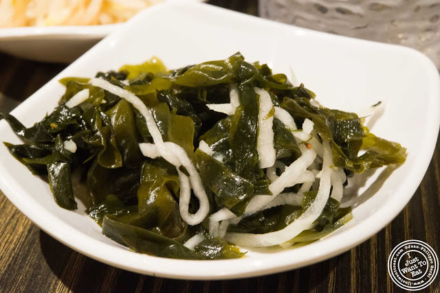 image of seaweed at BCD Tofu House in Korea Town NYC, New York