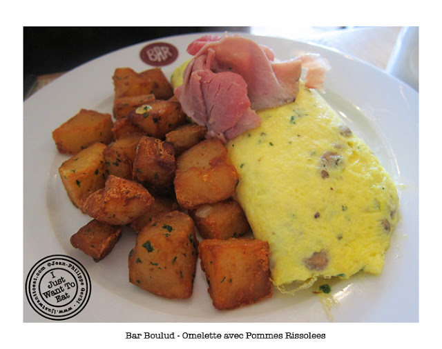 Image of Omelet at Bar Boulud in NYC, New York