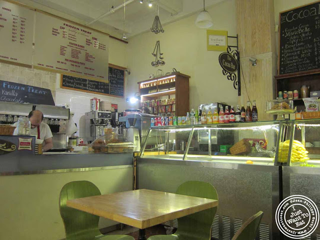 Image of  Cafe Jolie in Hell's Kitchen, NYC, New York