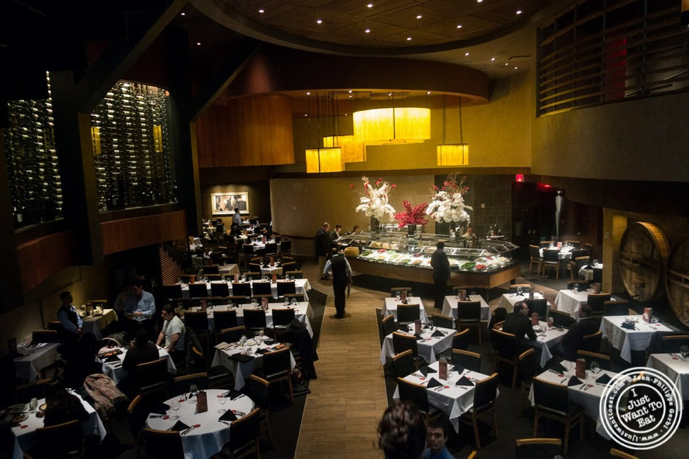 image of dining room at Fogo De Chao Brazilian steakhouse in NYC, New York