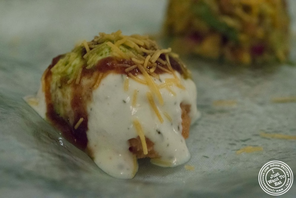Image Of Papadi Chaat At Tulsi, Indian Restaurant In Midtown East, NYC, New
