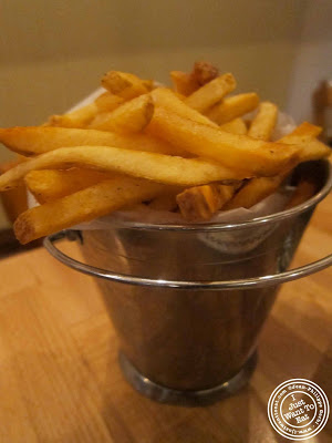 Image of fries at Island Burgers and Shakes in Hell's Kitchen, NYC, New York