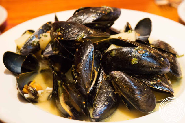 Image of Mussels at Zuni in Hell's kitchen in NYC, New York