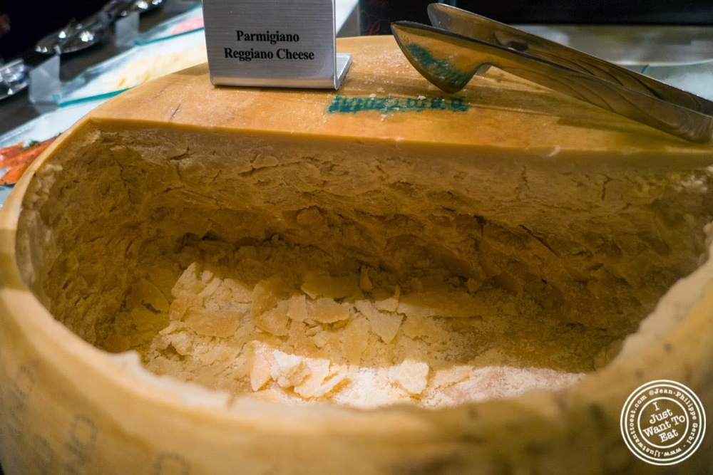 image of parmigiano regiano at Fogo De Chao Brazilian steakhouse in NYC, New York