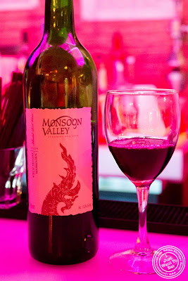 image of Monsoon Valley wine at Glow Thai restaurant and lounge in Bay Ridge Brooklyn, New York