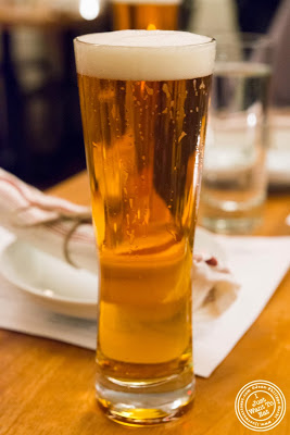 image of beer at Kingside in NYC, New York