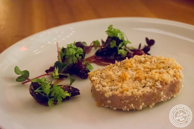 image of foie gras at Kingside in NYC, New York