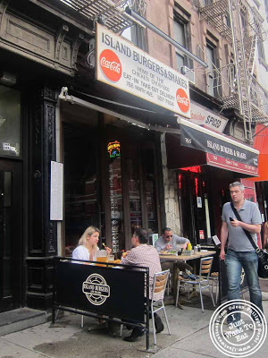 image of Island Burgers and Shakes in Hell's Kitchen, NYC, New York